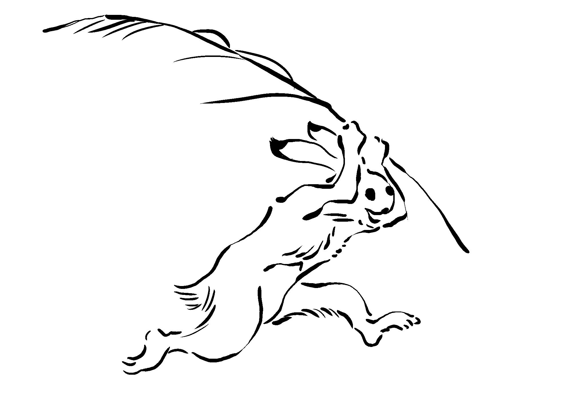 鳥獣戯画素材 Kedoblog倉庫